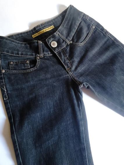 Calça Jeans Reta Tradicional Preta Triton 38
