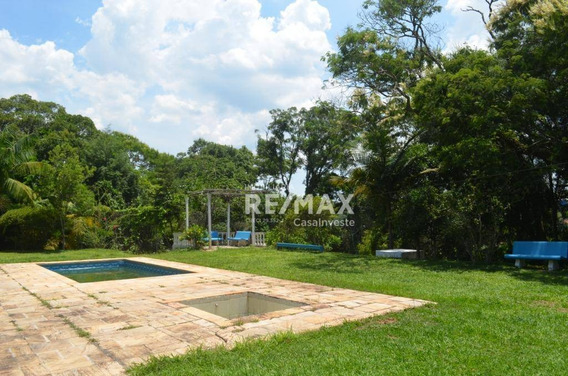 Chácara Com 2 Dormitórios À Venda, 14000 M² Por R$ 350.000 - Aguassaí - Cotia/sp - Ch0022