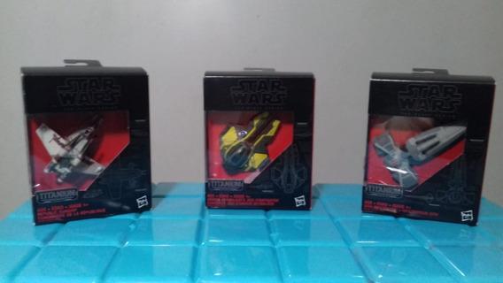 3 Naves Star Wars: Naves Das Guerras Clônicas