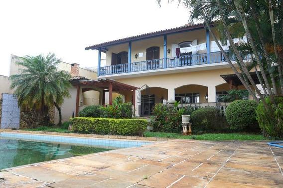Vendo - Belíssima Residencia - Parque Taquaral, Campinas Sp.- Ca4544. - Ca4544
