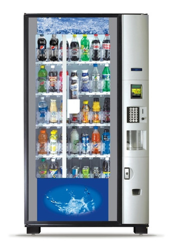 Bevmax 4 Dixie Narco Bebidas 39 (equipada) - Vending