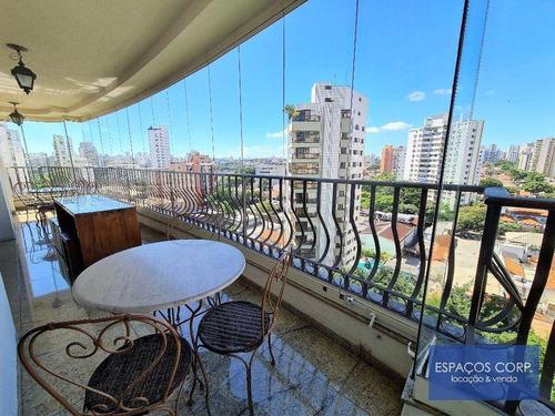 Imagem 1 de 28 de Apartamento Com 4 Dormitórios À Venda, 257m² Por R$ 2.700.000 - Campo Belo - São Paulo/sp - Ap0246