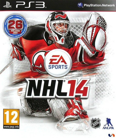 Jogo Novo Lacrado Nhl 14 Da Ea Sports Para Playstation 3