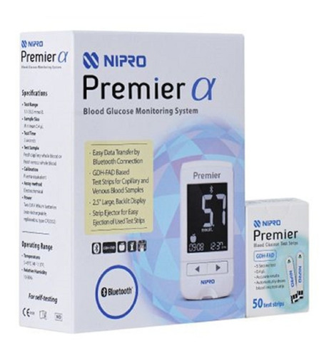 Glucómetro Nipro Premier | Mercado Libre