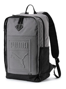 Mochila Puma Backpack Cinza