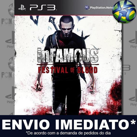 Infamous Festival Of Blood Ps3 Psn Jogo Em Promoção Play 3