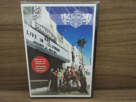 Dvd - Rbd Live In Hollywood - January 21 Sold Out - Novo