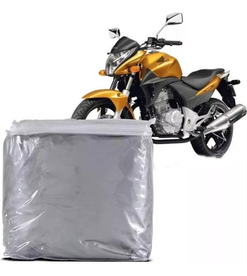 Capa Protetora Cobrir Moto Honda Biz Cg 125 150 Titan