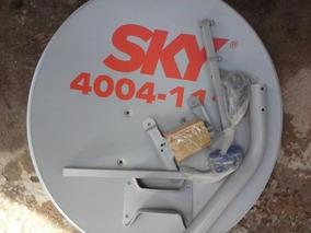 Antena 90 Cm Banda Ku 60 Cm Kit Completo