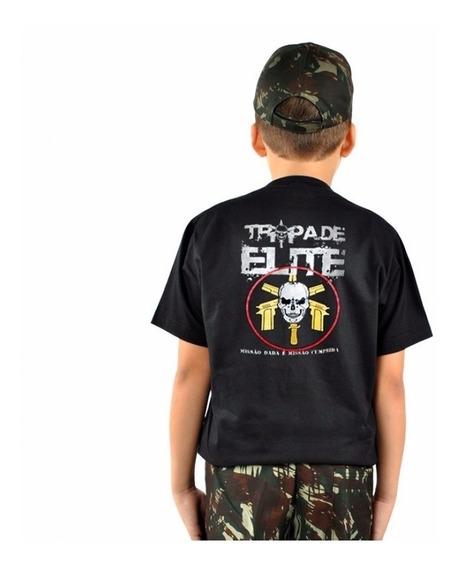 Camiseta Infantil Tropa De Elite