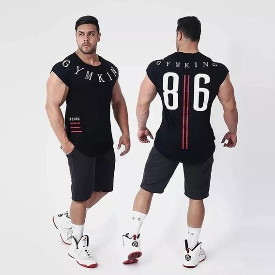 Builking Camiseta Gym Crossfit Fitness Bodybuilding