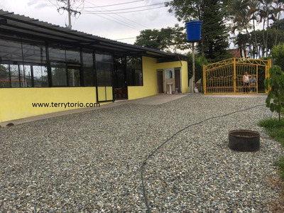 Se Vende Lote Con Casa Y Local Via Tebaida Quindio