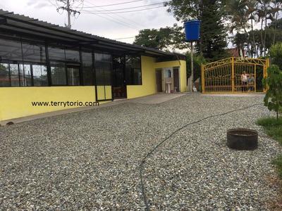 Se Vende Lote Con Casa Y Local Via Tebaida Quindio