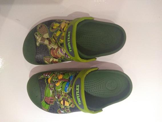 Crocs Original Infantil Tartarugas Ninjas Tam.32