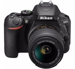 Nikon D5600+af-p Dx 18-55mm +64gb+bolsa+tripé S.j