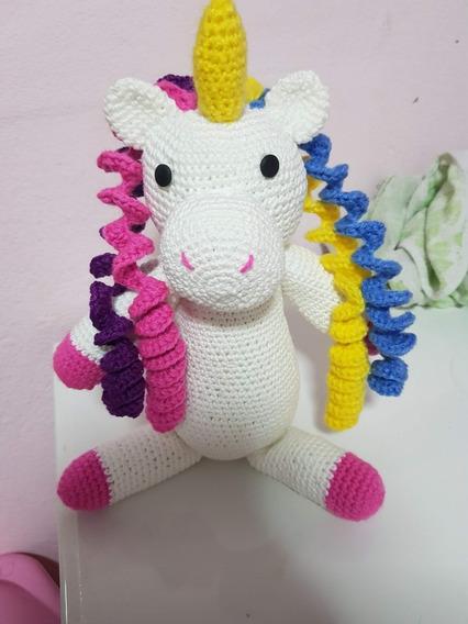 Unicornio De Croche (35cm)