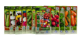 10 Sobres Hortalizas Y Flores Hortaflor Rancho Los Molinos