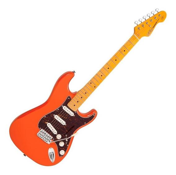 Guitarra Vintage Stratocaster Firenza Red V6m Reissued