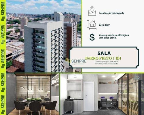 Imagem 1 de 25 de Sala À Venda, 30 M² - Barro Preto - Belo Horizonte/mg - Sa0060