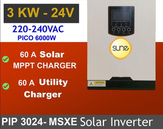 Energía Solar Inversor 3000w 60a