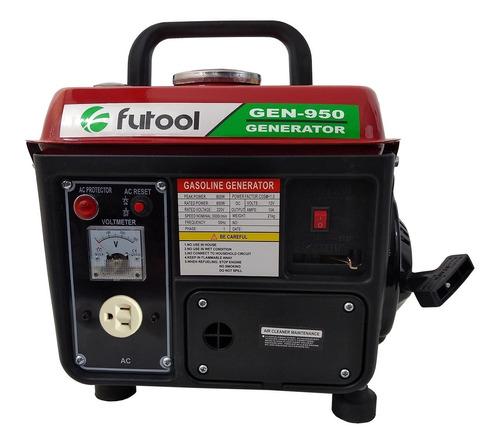 Imagen 1 de 5 de Generador Eléctrico  A Gasolina Futool 110v 800 W 12v