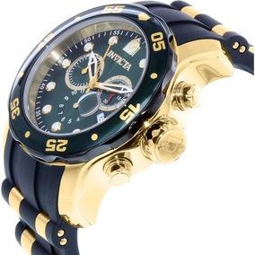 Invicta 17886 Pro Diver Dourado Ouro 18k Original Caixa Nf