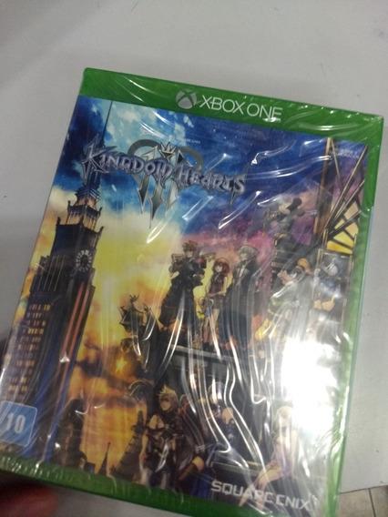 Kingdom Hearts 3 Xbox One + Steel Book Mídia Física