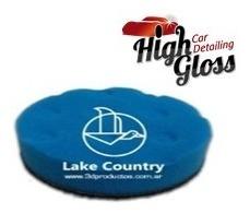 Lake Country Pad Esp Ccs Blue Finish 3 X 7/8 - Highgloss Ro