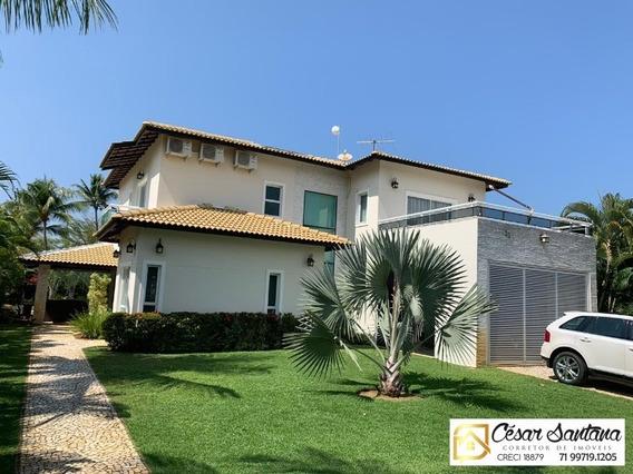 Casa 5 Suítes Alto Padrão Em Busca Vida - Vila De Abrantes - Ca00519 - 34315273