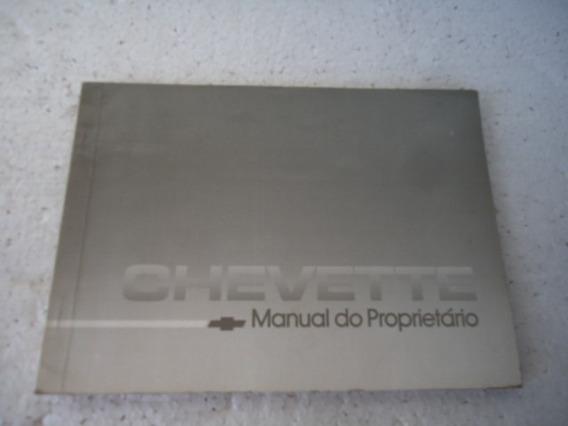 Chevette 1988 Manual Usado - 4606-pc4