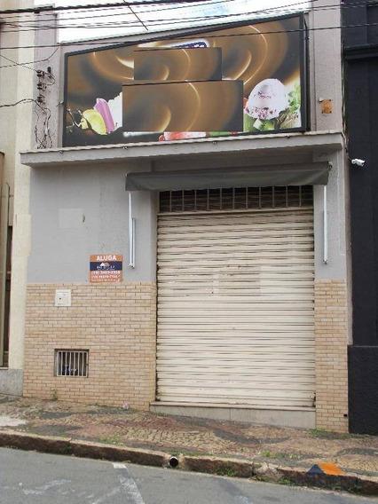 Salão Comercial Para Locação, Centro, Limeira. - Sl0045