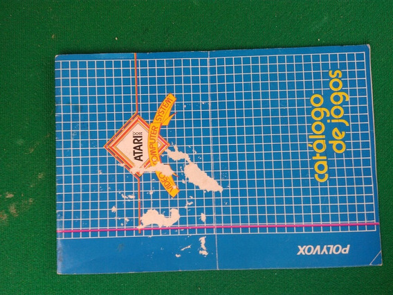 Atari Polyvox Catalogo De Jogos Original Frete Gratis