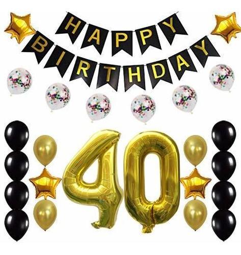 .o Cumpleaños Decoraciones Suministros Para Fiestas F...