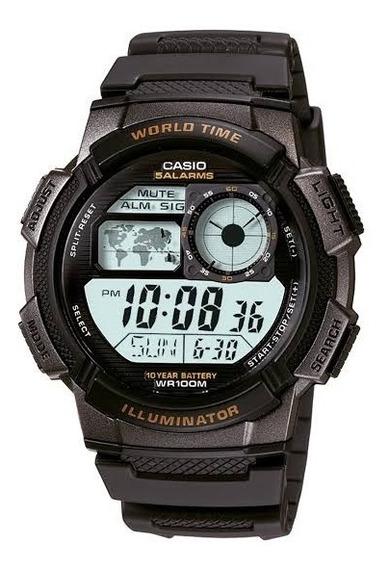 Relógio Casio Ae1000w 1bvdf Original Com N.f Garantia Caixa
