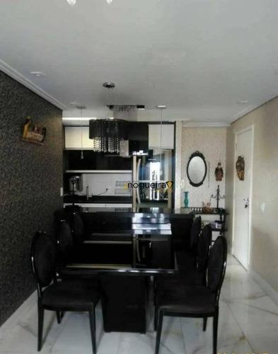 Apartamento À Venda, 67 M² Por R$ 465.000,00 - Interlagos - São Paulo/sp - Ap15503
