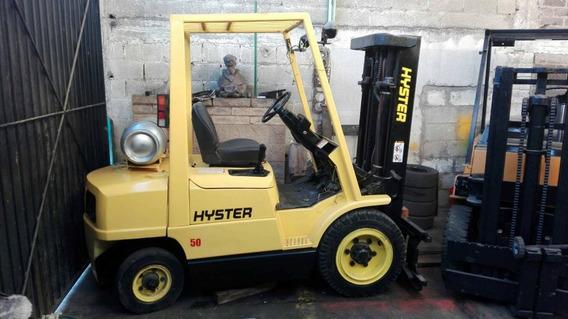 Montacargas Hyster Modelo 2006 Para 2 Y 1/2 Tons. Funcional
