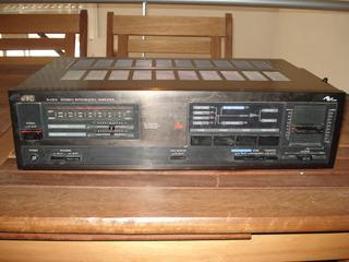 Amplificador Stereo Jvc A-gx3 M/bueno Funciona Perfecto 50w