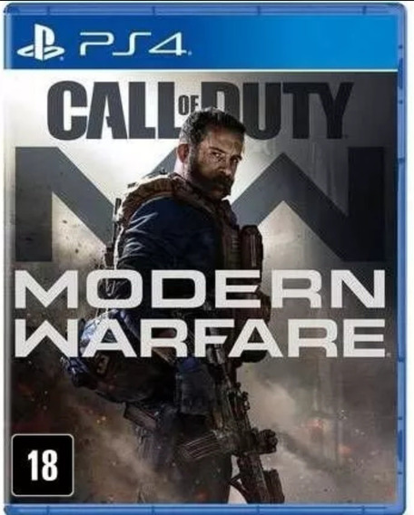 Jogo Call Of Duty Modern Warfare Ps4 Mídia Física Lacrado