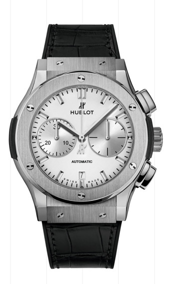 Relogio Hublot Classic Fusion Chronograph Titanium Opalin