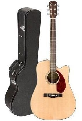 Violão Eletroacústico Fender Cc-140sce Nat Wc Com Case