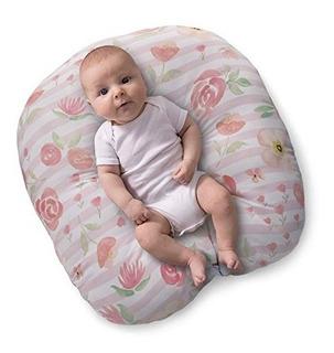 Puff Para Bebé Boppy Bebés De Hasta 7kg -flores Grandes