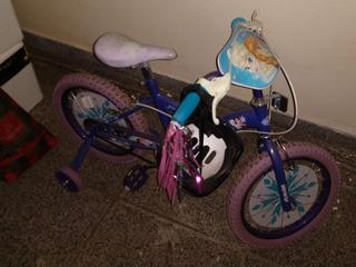 Bicicleta Frozen Nena