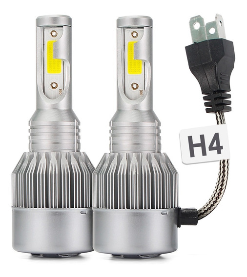 Kit Lampada Led Automotivo 7600l Super Branca Efeito Xenon