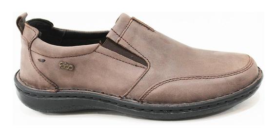 Zapato Cuero Hombre Con Elástico Art 841. Marca Febo