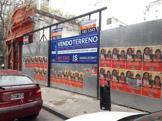 Sarmiento 1384, Terreno A La Venta - Ideal Desarrollo Inmobiliario.-