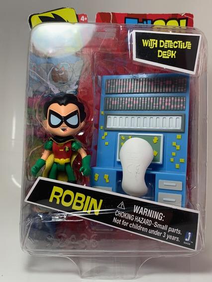 Miniatura Jovem Titans Robin Disney Original Novo Importado