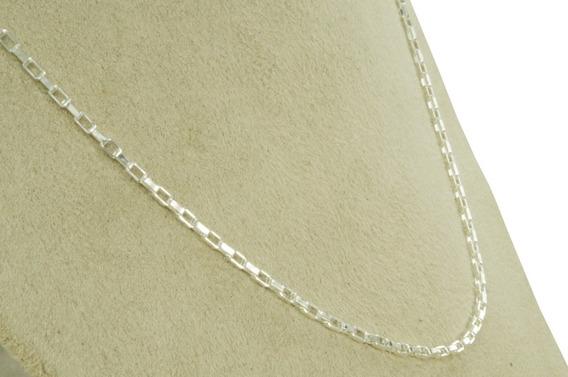 Conjunto Corrente + Pulseira Cadeado Masculina 70 Cm (m10,1) Prata 950