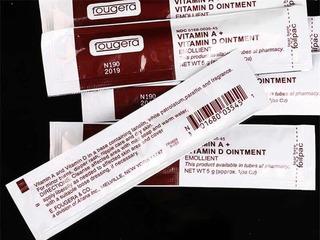 Cicatrizante Vitamina A Para Micropigmentacao Fougera No Mercado