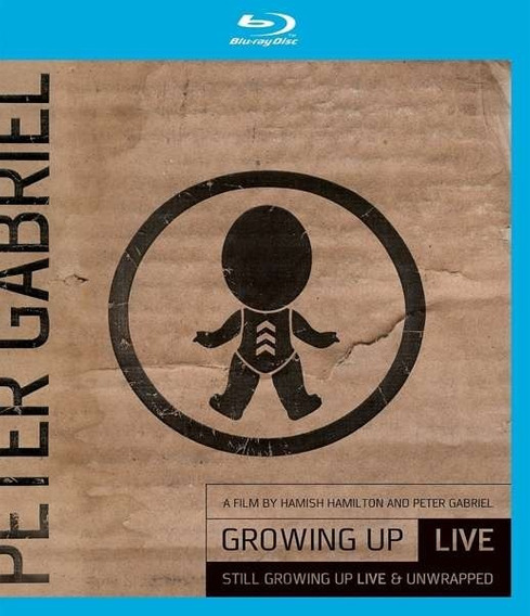 Blu-ray + Dvd Peter Gabriel - Growing Up Live (lacrado)