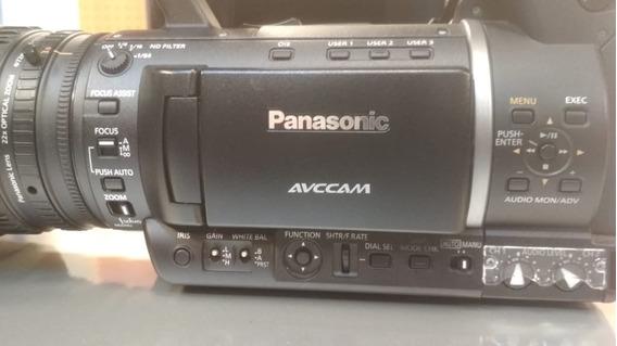 Filmadora Panasonic Ag-ac 160 Ap